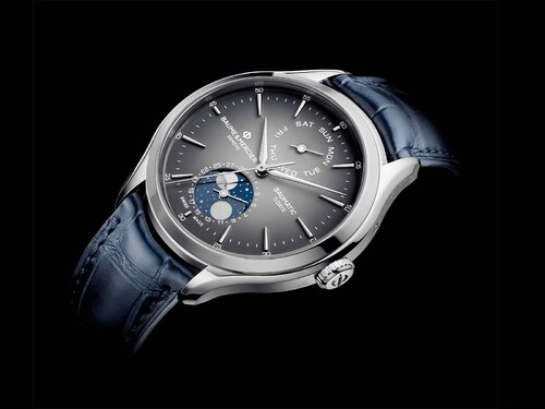 Baume & Mercier - Clifton Baumatic Tag-Datum, Mondphase