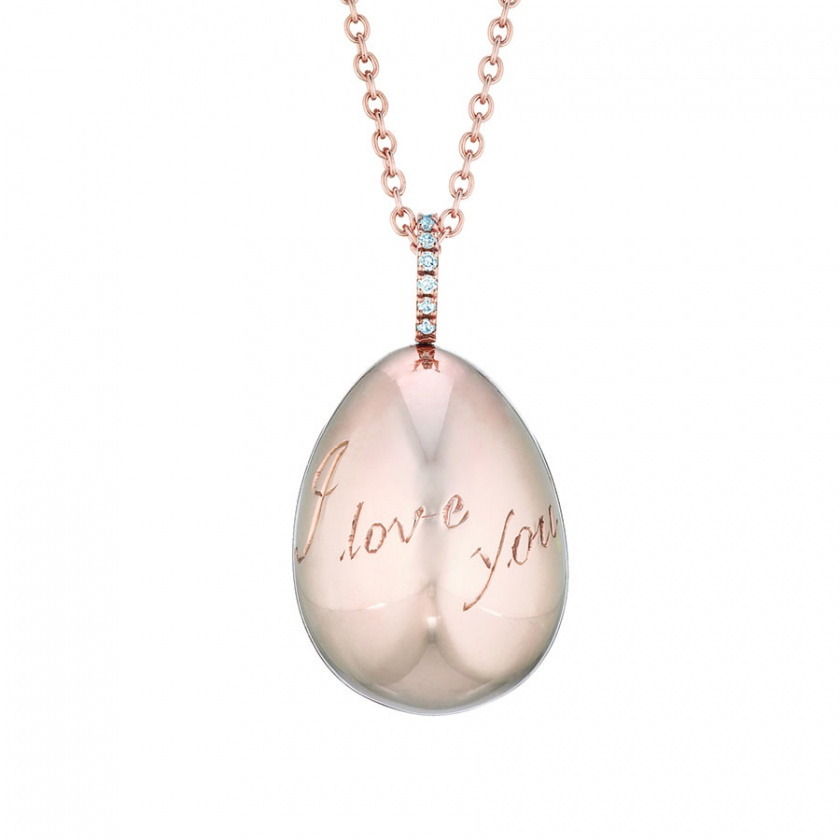 I Love You pendant, Fabergé